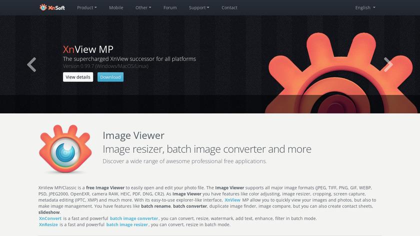 Compare FastStone Image Viewer VS XnView MP - SaaSHub