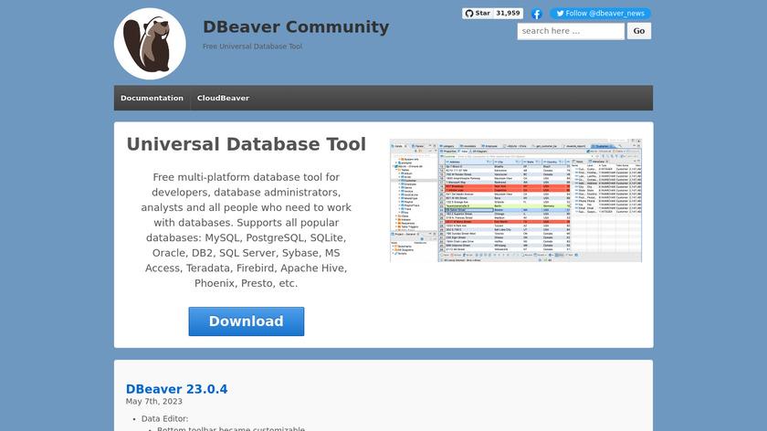 Compare DBeaver VS TeamSQL - SaaSHub