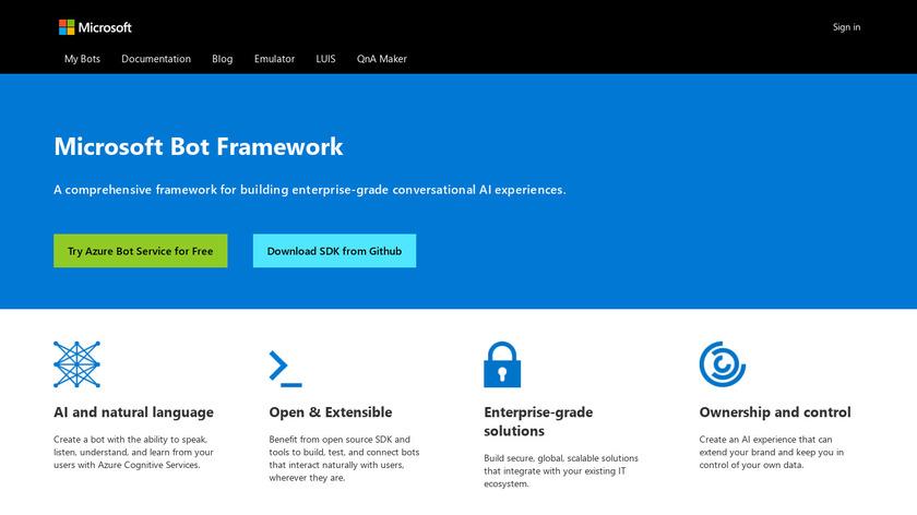 Compare Microsoft Bot Framework VS Botpress - SaaSHub