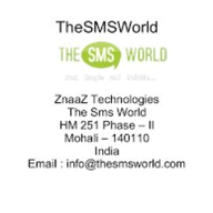 The SMS World logo